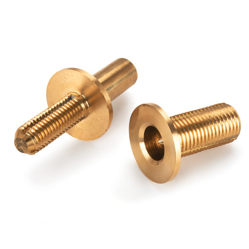 View a Larger Image of Brass Cane Coupling Hardware
