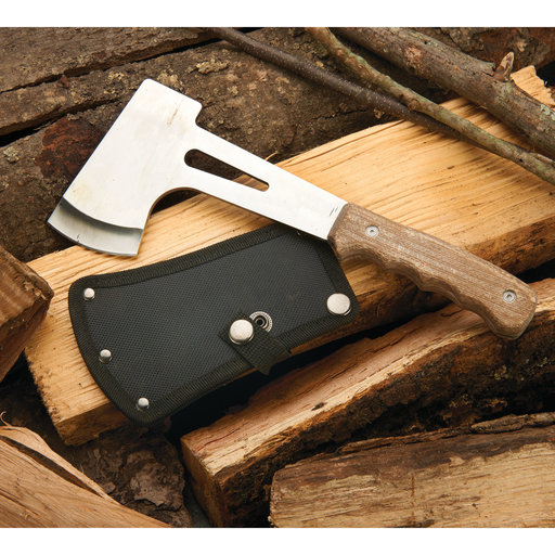 View a Larger Image of Camp Axe Kit with Black Nylon Sheath