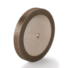 """120-Grit CBN Grinding Wheel, 6""""x 3/4"""" for Grinders with a 1/2"""" Arbor"""