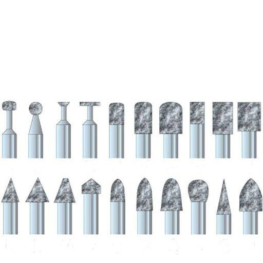 "View a Larger Image of Diamond Dust Carving Burr Set, 3/32"" Shank, 8 piece"