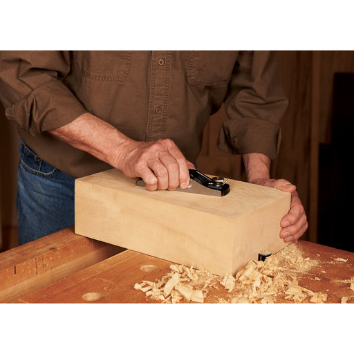 View a Larger Image of Low Angle Block Hand Plane with Adjustable Mouth
