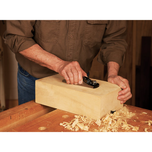 View a Larger Image of Standard Block Hand Plane with Adjustable Mouth