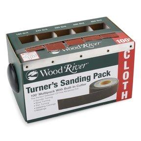 """1"""" x 20' Turner's Sanding pk Sanding Roll Assortment with Dispenser"""