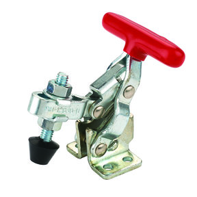 """Vertical T Handle Toggle Clamp 1-1/4"""" x 1/8"""" 200 lb Capacity"""