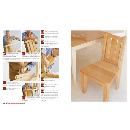 View a Larger Image of Woodworker's Handbook