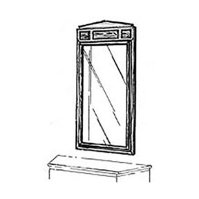 Woodworking Project Paper Plan to Build 18th Century Mirror