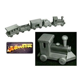 Woodworking Project Paper Plan to Build 4' Toy Train