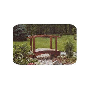 Woodworking Project Paper Plan to Build 5' Arched Lawn Bridge