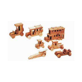 Woodworking Project Paper Plan to Build 7 Classic Toy Auto