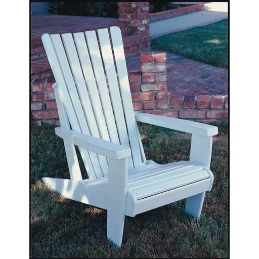 View a Larger Image of Woodworking Project Paper Plan to Build Adirondack Chair, Plan No. 55