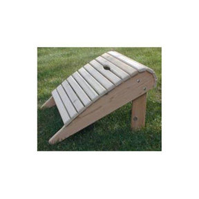 Woodworking Project Paper Plan to Build Adirondack Footrest