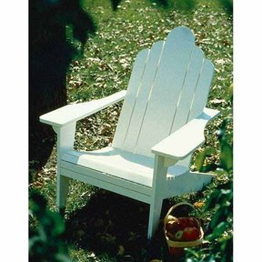 Woodworking Project Paper Plan to Build Adirondack Lawn Chair