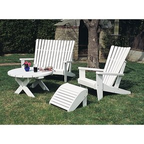 Woodworking Project Paper Plan to Build Adirondack Table, Plan No. 813