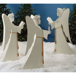 Woodworking Project Paper Plan to Build Angelic Chorus