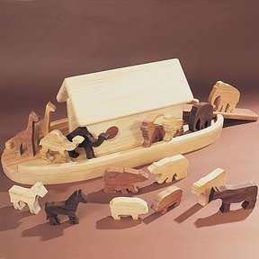 Woodworking Project Paper Plan to Build Animal Ark, Plan No. 786