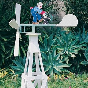 Woodworking Project Paper Plan to Build Animated Whirligig, Plan No. 694