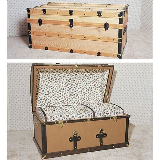 View a Larger Image of Woodworking Project Paper Plan to Build Antique Chests, Plan No. 762