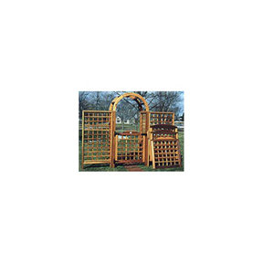 Woodworking Project Paper Plan to Build Archway and Trellis