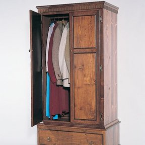 Woodworking Project Paper Plan to Build Armoire, Plan No. 729