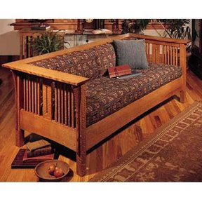 Woodworking Project Paper Plan to Build Arts and Crafts Mission Sofa and Chair