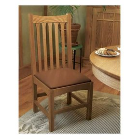 Woodworking Project Paper Plan to Build Arts & Crafts Dining Chair