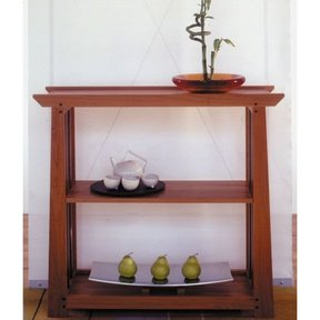 Woodworking Project Paper Plan to Build Arts & Crafts Shelf