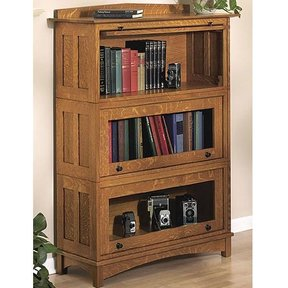Woodworking Project Paper Plan to Build Barrister's Bookcase
