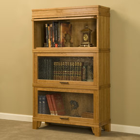 Woodworking Project Paper Plan to Build Barrister Bookcase