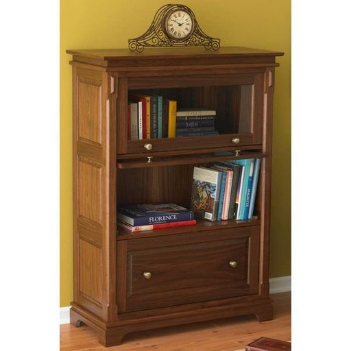 View a Larger Image of Woodworking Project Paper Plan to Build Barristers Bookcase