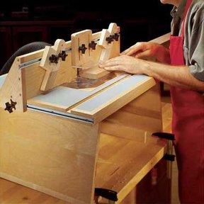 Woodworking Project Paper Plan to Build Benchtop Router Table