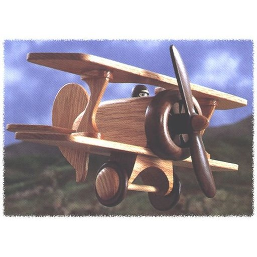 View a Larger Image of Woodworking Project Paper Plan to Build Biplane