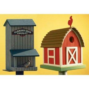 Woodworking Project Paper Plan to Build Birdhouse/Birdfeeder