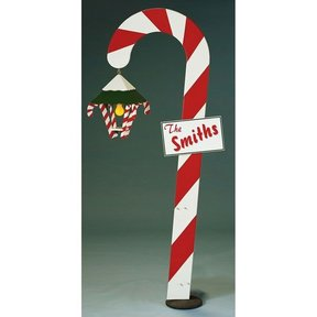 Woodworking Project Paper Plan to Build Candy Cane