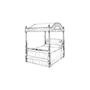 Woodworking Project Paper Plan to Build Canopy Bed