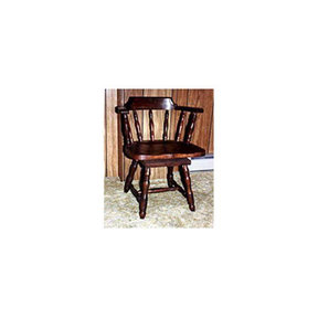 Woodworking Project Paper Plan to Build Captain's Swivel Chair