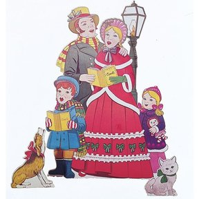 Woodworking Project Paper Plan to Build Carolers, Plan No. 510