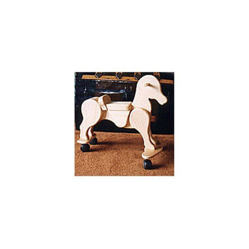 View a Larger Image of Woodworking Project Paper Plan to Build Caster Horse