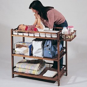 Woodworking Project Paper Plan to Build Changing Table, Plan No. 690