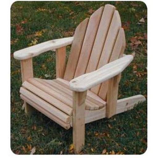View a Larger Image of Woodworking Project Paper Plan to Build Child-Size Adirondack Chair