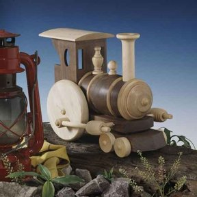 Woodworking Project Paper Plan to Build Chubby Choo-Choo Train