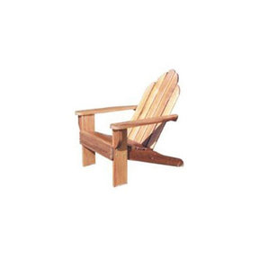 Woodworking Project Paper Plan to Build Classic Adirondack Chair