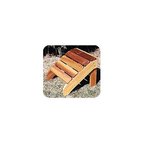 Woodworking Project Paper Plan to Build Classic Adirondack Footrest