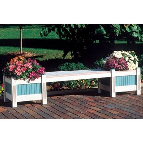 Woodworking Project Paper Plan to Build Classic Planter & Bench