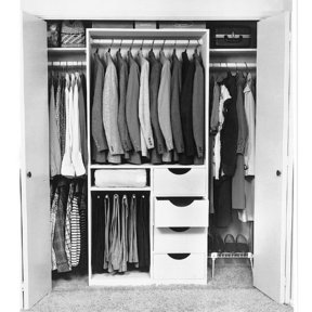 Woodworking Project Paper Plan to Build Closet Organizer