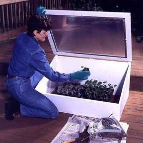 Woodworking Project Paper Plan to Build Cold Frame
