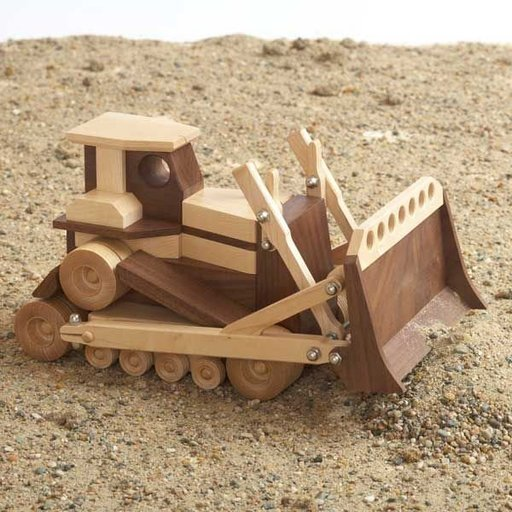 View a Larger Image of Woodworking Project Paper Plan to Build Construction-Grade Bulldozer