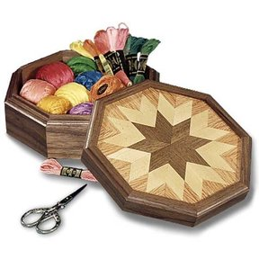 Woodworking Project Paper Plan to Build Country All-Star Keepsake Box