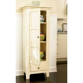 Woodworking Project Paper Plan to Build Country Classic Chimney Cupboard
