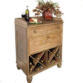 Woodworking Project Paper Plan to Build Country French Wine Server