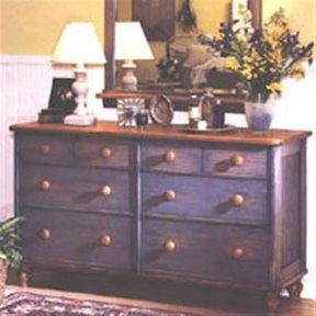 Woodworking Project Paper Plan to Build Country-Fresh Dresser
